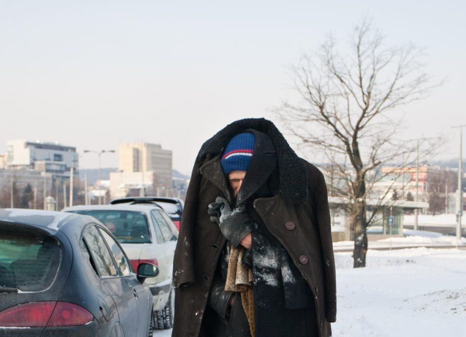 Į  ligoninę dėl apšalimo pateko ketvirtas šiais metais nelaimėlis