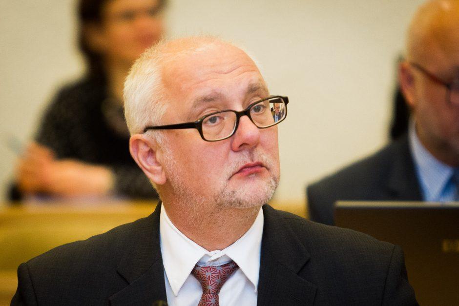 Buvęs ministras D. Pavalkis patarinės eurokomisarui