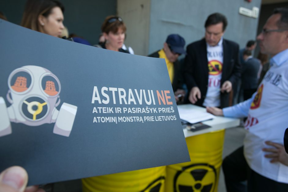 Vyriausybė pritarė planui, kaip blokuoti Astravo AE elektros importą