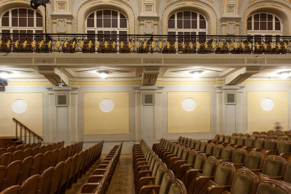 Barbarų pėdsakai Nacionalinėje filharmonijoje