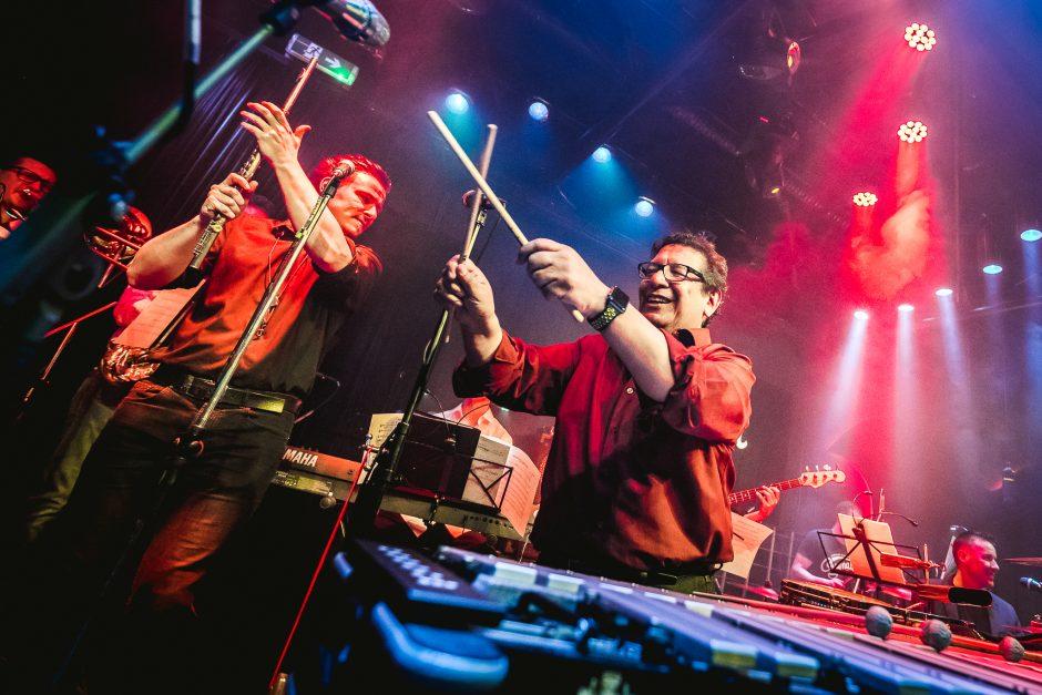 """""""La Fiesta Valentino"""" – su Kauno bigbendu ir laimingiausiu pasaulyje vibrafonininku"""