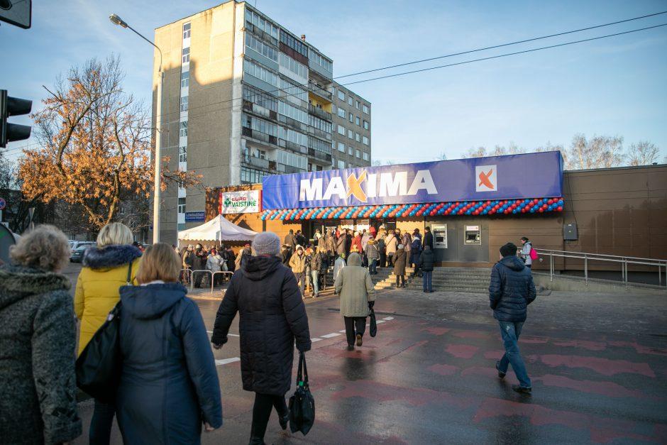 """Vilniaus Savanorių prospekte – atnaujinta """"Maximos"""" parduotuvė"""