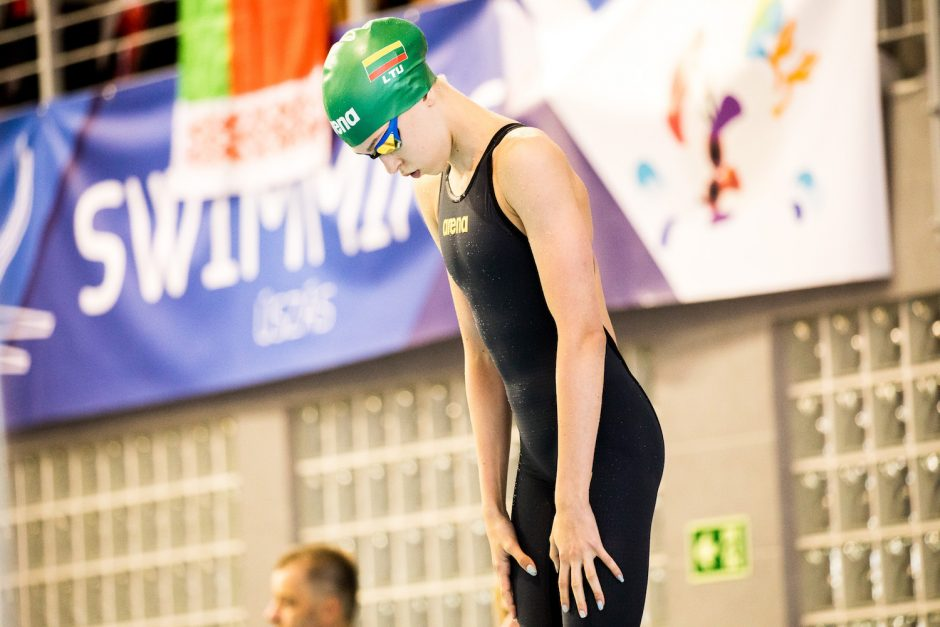 Plaukikė K. Teterevkova tapo Europos jaunimo čempione!