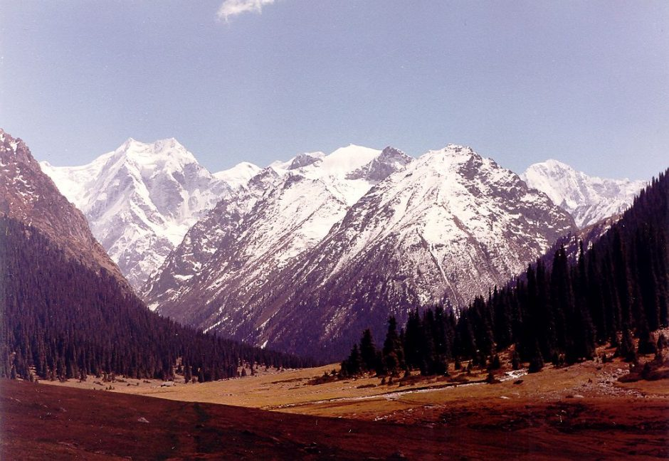 Dar dvi viršukalnės Tian Šanio kalnuose gavo lietuviškus vardus