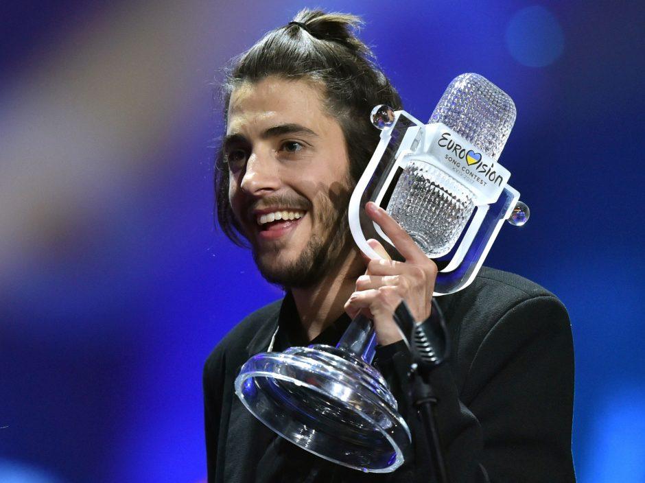 """""""Eurovizijos"""" laimėtojas S. Sobralis: kas tas keistas portugalų svajoklis?"""
