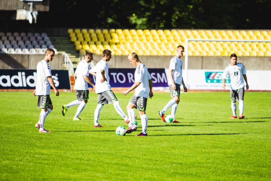 U-19 Lietuvos rinktinės treniruotė