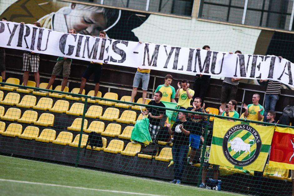 """LFF Taurė: """"FBK-Kaunas"""" - """"Spyris"""""""