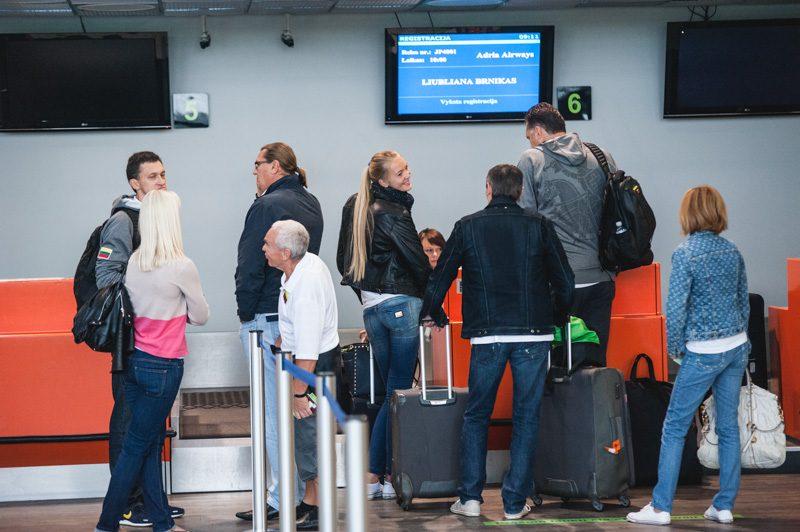 Antrasis Lietuvos krepšinio rinktinės bandymas išskristi į Slovėniją