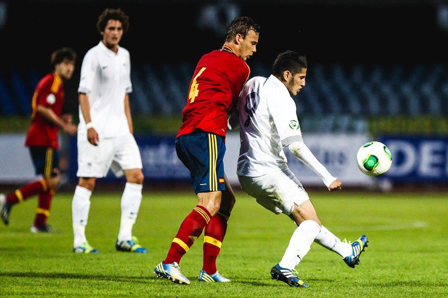 Europos U-19 futbolo čempionatas: Ispanija - Prancūzija