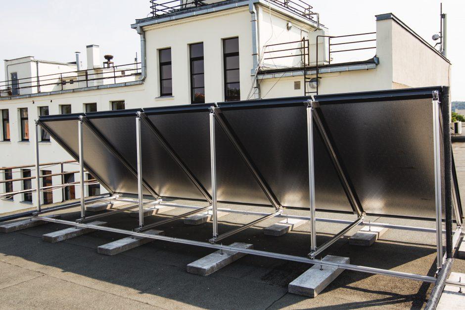 Kauno savivaldybėje vandenį šildys saulės kolektoriai