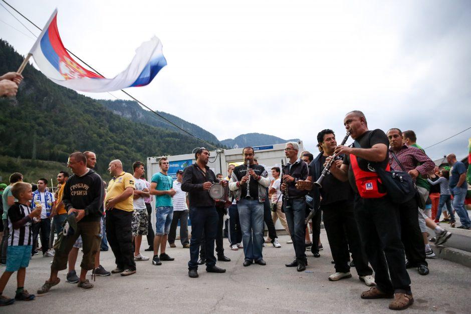 """Slovėnijoje """"Trys milijonai"""" skamba garsiau už traukinių dundesį (išskirtinis reportažas)"""