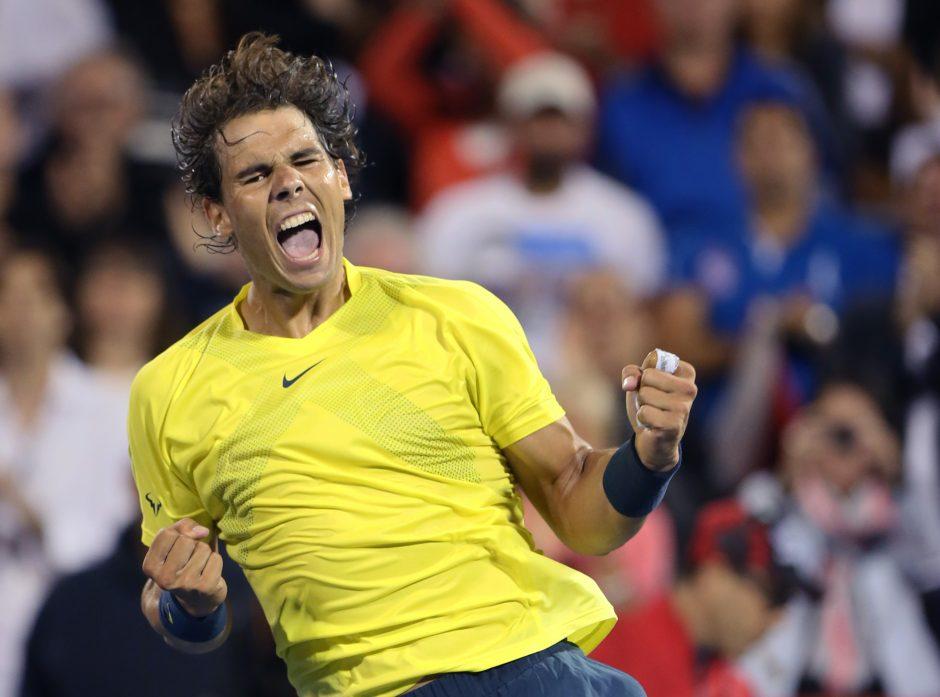 R. Nadalis trečiąjį kartą triumfavo ATP