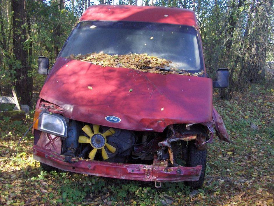 18 tūkst. tonų automobilių atliekų kasmet užteršia Lietuvos gamtą