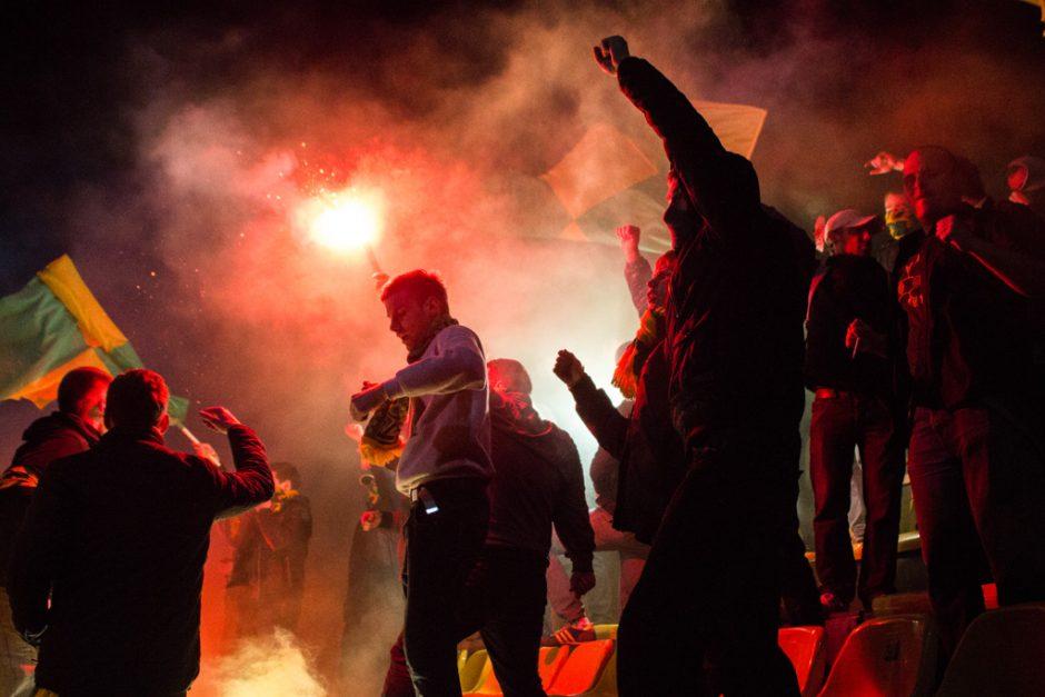 LFF Taurėje – neeilinis Kauno miesto futbolo komandų derbis