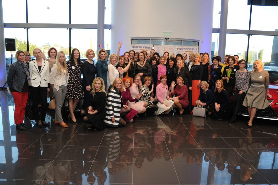 """Konferencijoje """"Moteris versle 100/10"""" – 100 dalyvių iš visos Lietuvos"""