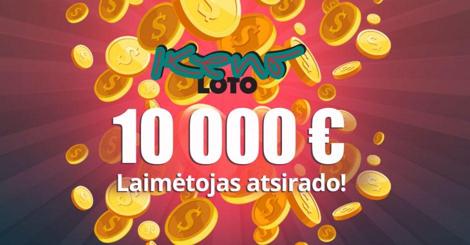 """10 000 Eur laimėtojas: """"Nerūkau, o žaidžiu!"""""""
