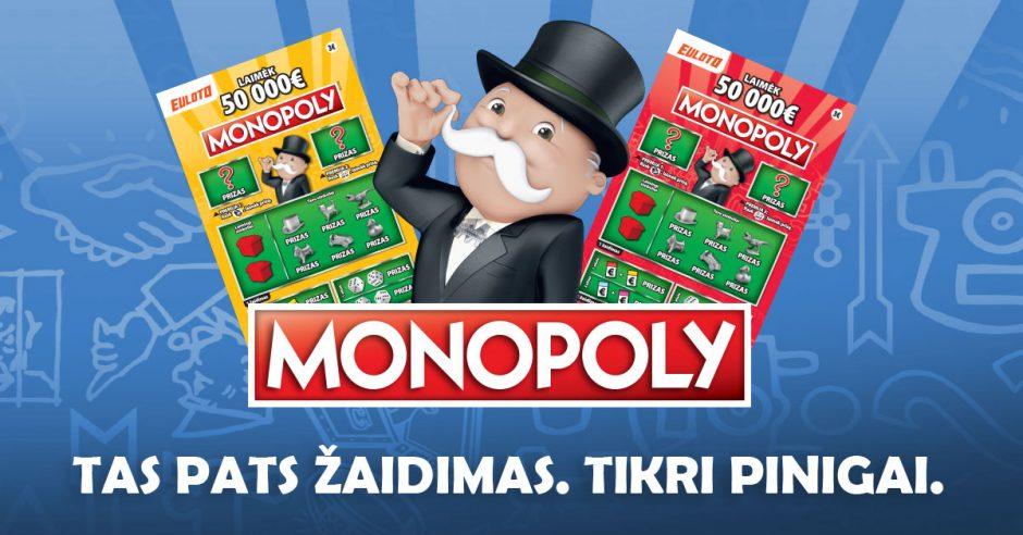 Nuo šiol Monopolį žaiskite kitaip