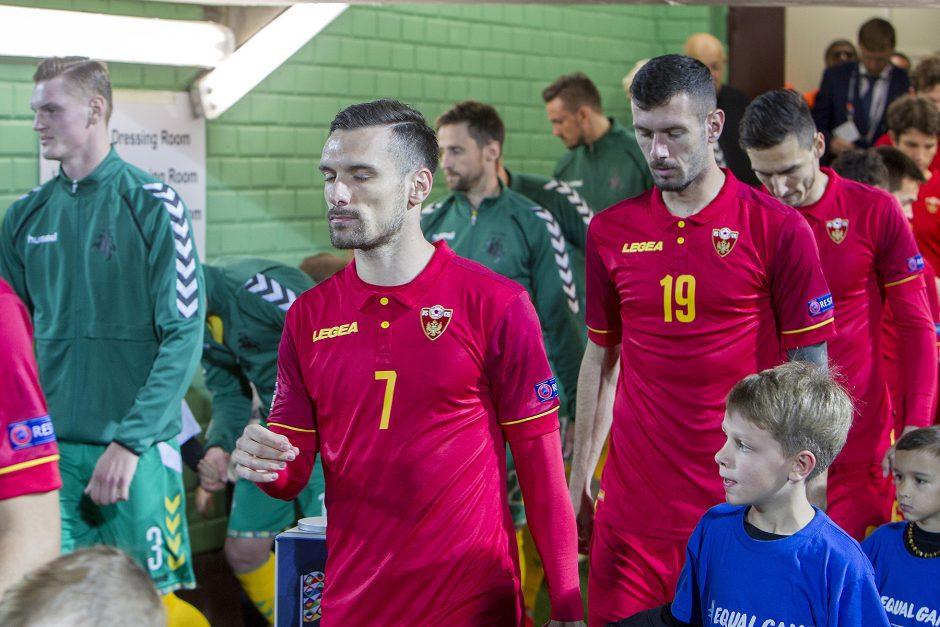 Tautų lyga: Lietuva – Juodkalnija 1:4