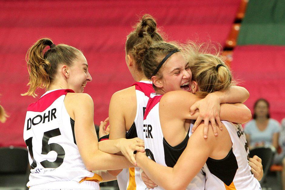 Lietuva – Vokietija 51:58. Merginų U16 EČ