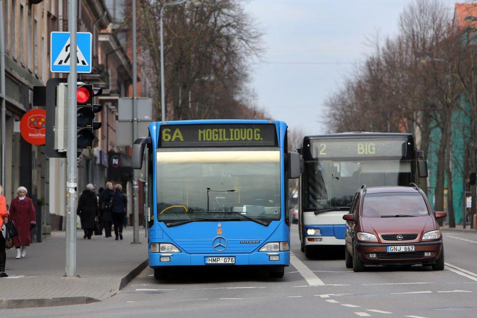 Lengvatą autobusų bilietams suteiks visiems pensininkams?