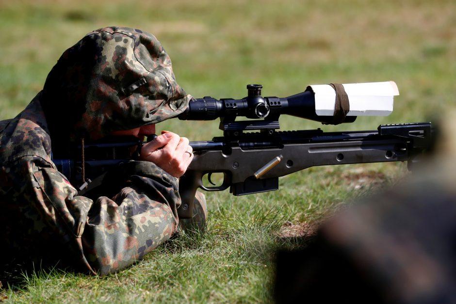 V. Putinui NATO pajėgų stiprinimas sukelia šypseną