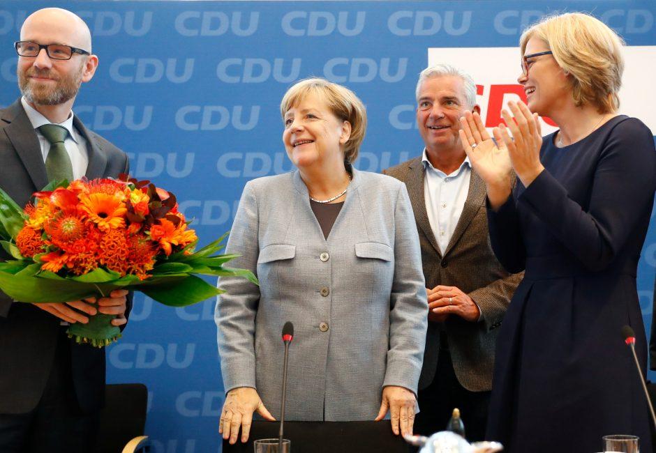 """""""Der Spiegel"""": A. Merkel pati kalta dėl tokių rinkimų rezultatų"""