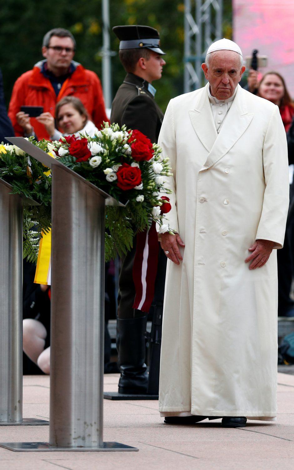 Popiežiaus vizitas Latvijoje
