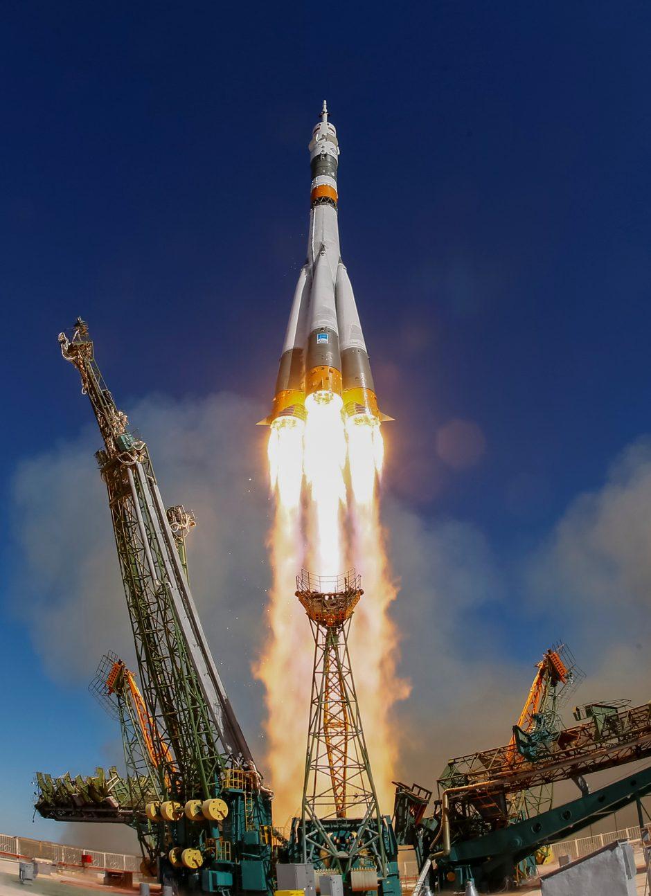 Rusija pradėjo baudžiamąjį tyrimą dėl avariniu būdu nusileidusio erdvėlaivio