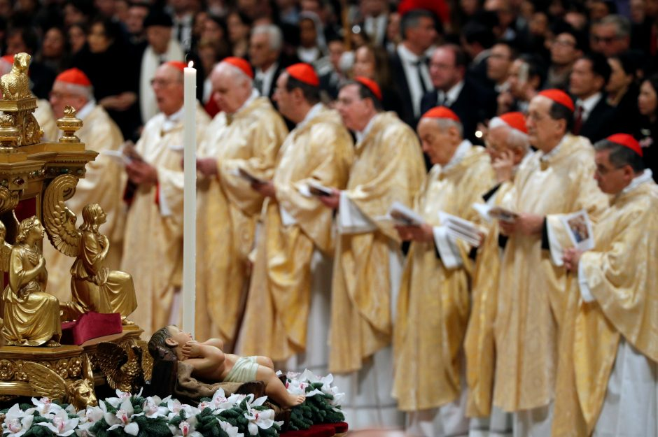 Popiežiaus aukotos mišios