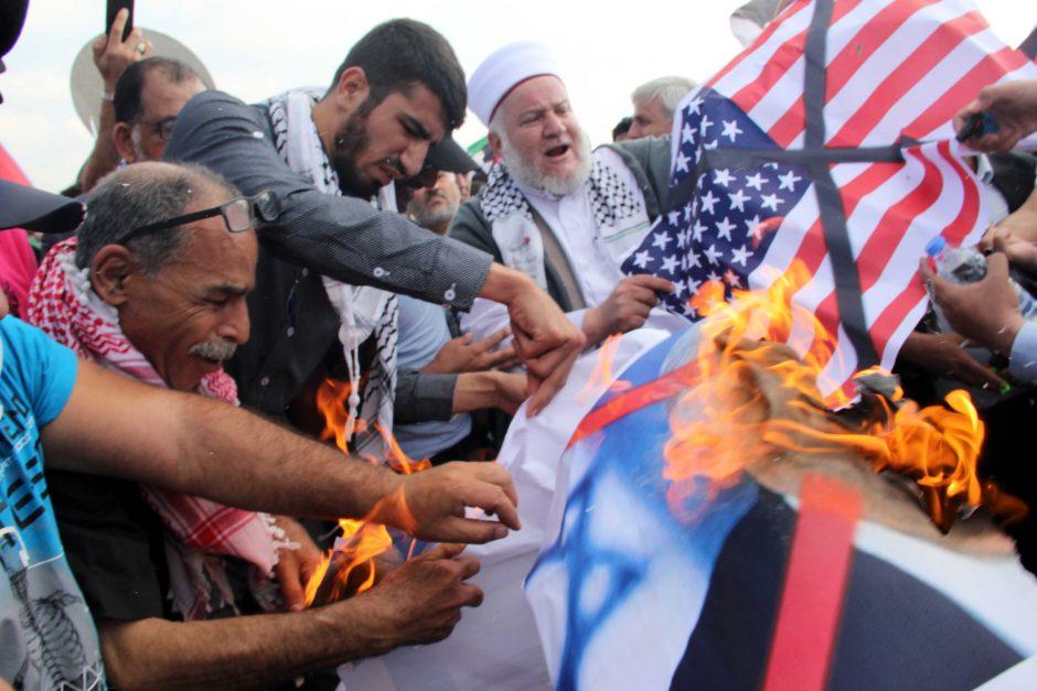 JAV Kongresas patvirtino beveik 40 mlrd. paramą Izraelio gynybos stiprinimui