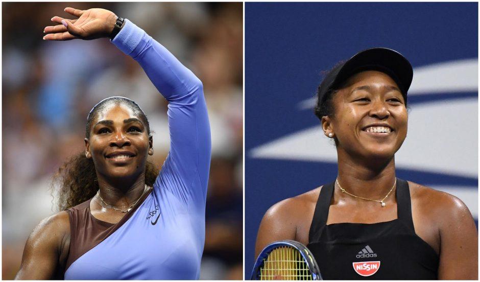"""""""US Open"""" turnyro finale – S. Williams ir japonės N. Osaka akistata"""