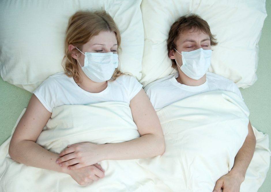 Gripas į patalą guldo vis daugiau tautiečių