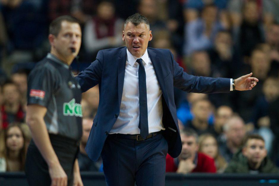 """Š. Jasikevičius prieš teisėjus: kiek pagrįsta """"Žalgirio"""" trenerio kritika?"""