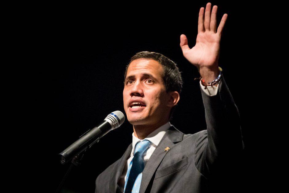 J. Guaido kviečia savo šalininkus į naujus protestus