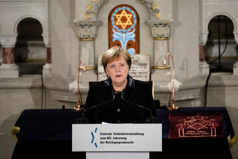 Vokietija mini 80-ąsias Krištolinės nakties metines