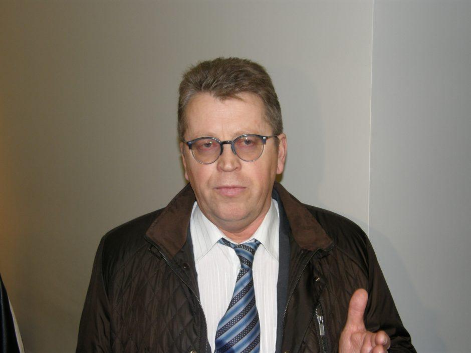 Profesinės sąjungos lyderiui pareikšti įtarimai