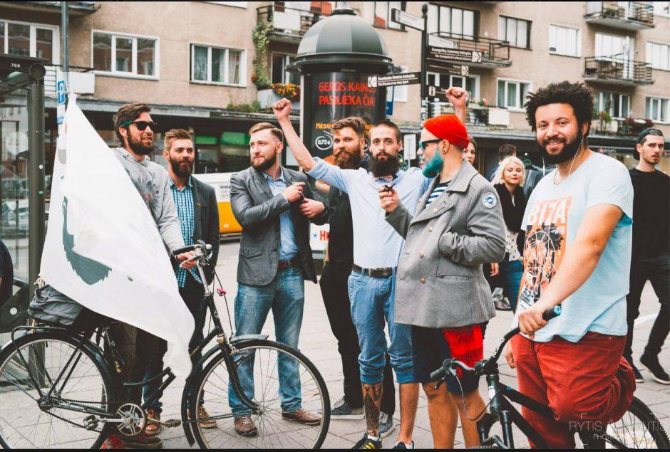 V. Samkus: barzdočiai – kantrūs žmonės