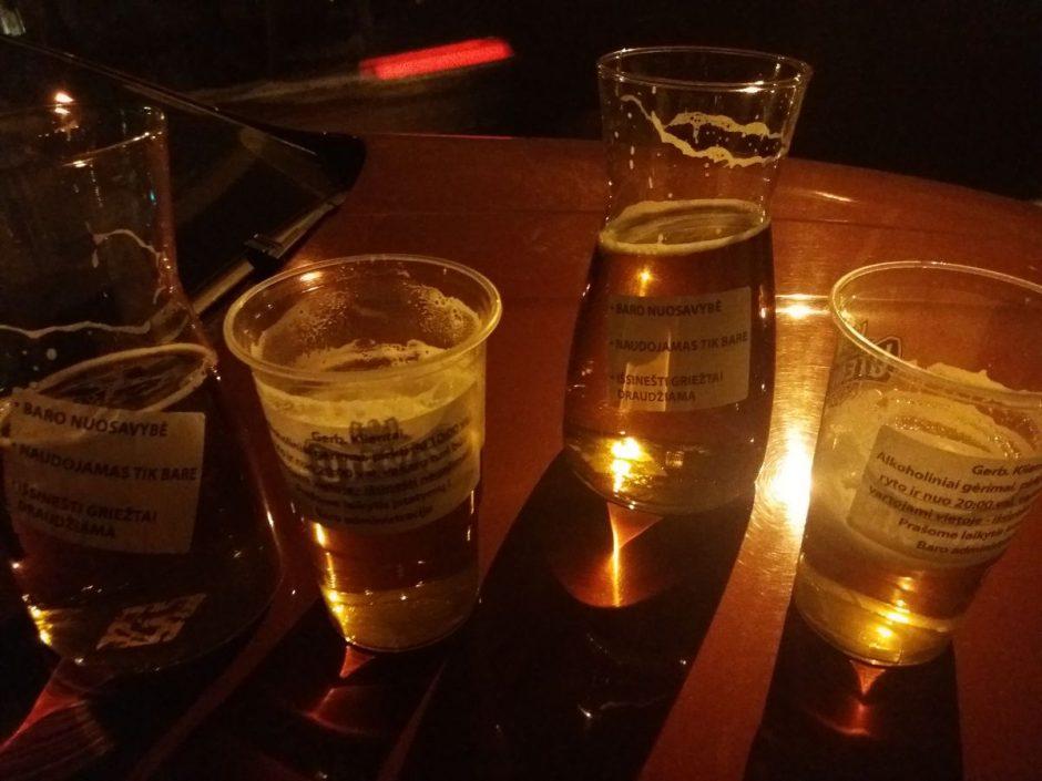 Už pogrindinę alkoholio prekybą feisbuke – bauda