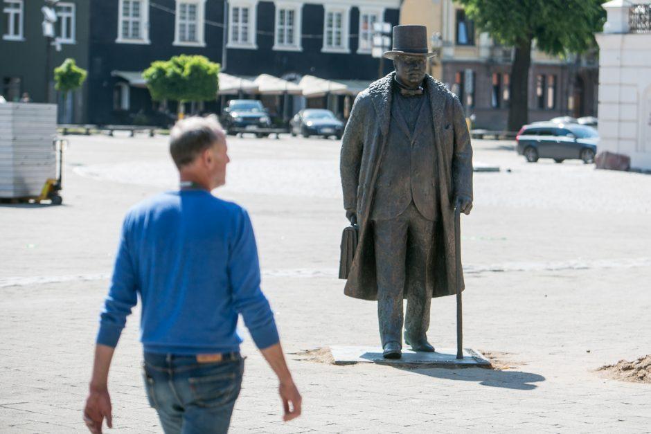 Kur dingo burmistro J. Vileišio paminklas?
