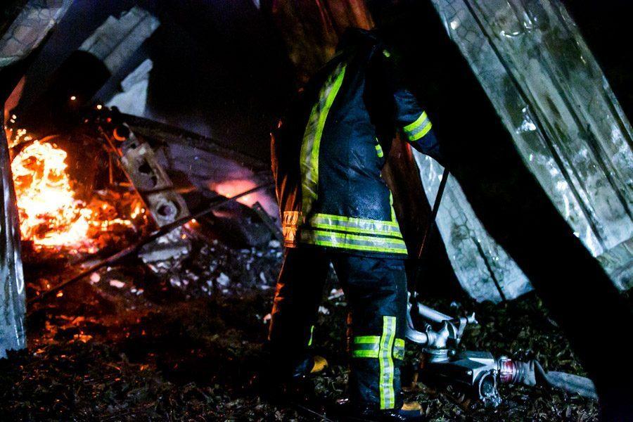 Rusijoje sudegė unikali XVIII amžiaus medinė cerkvė