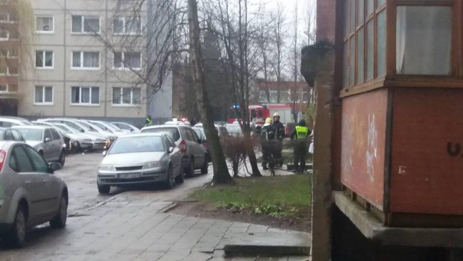 Pietinėje Klaipėdos dalyje – baimė dėl galimo sprogimo