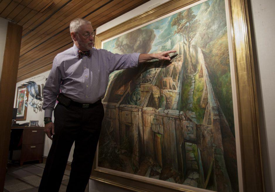 Vilniaus garbės piliečio vardas – dailininkui S. Bakui
