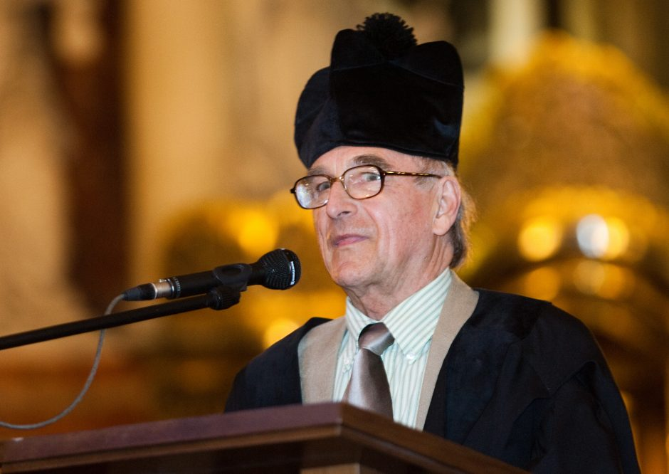 Filosofui A. Mickūnui – Kultūros ministerijos garbės ženklas