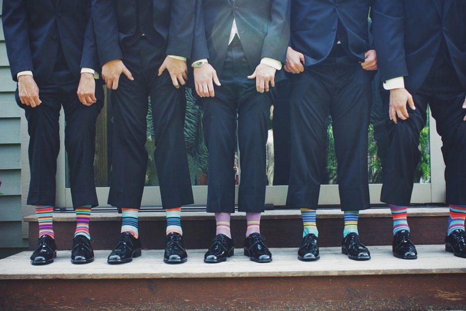 Kojinių mada: kokias klaidas daro vyrai?