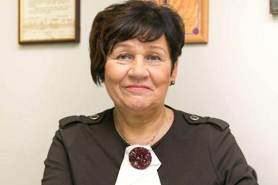 L. Anužienė atleista iš profesinio mokymo centro