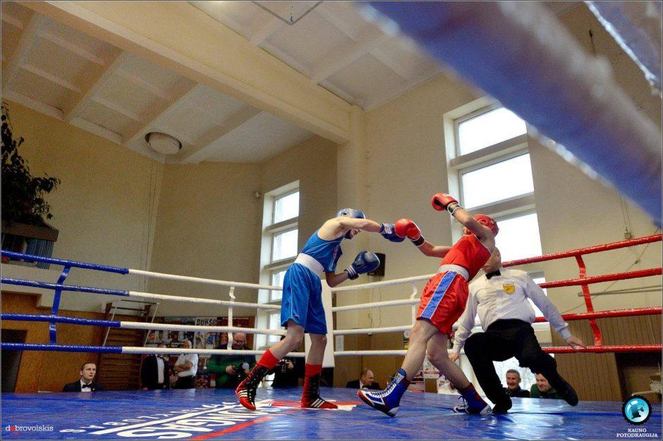 Jaunieji bokso talentai kovojo Tauragės ringe