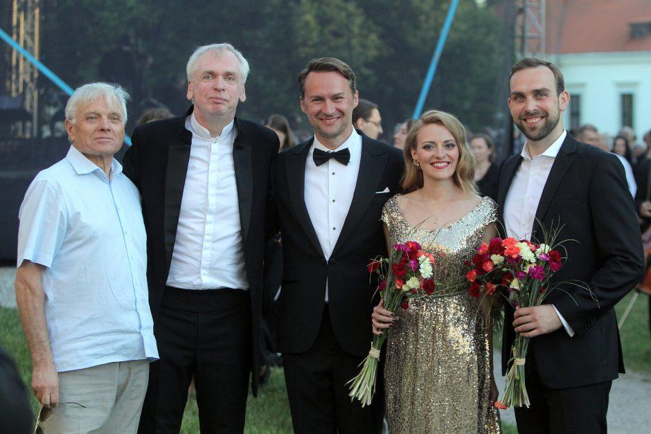 Pažaislio festivalyje – reveransas V. Noreikai
