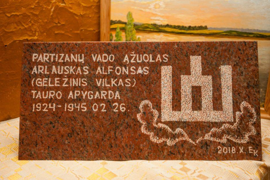 Apie partizanų vadą Alfonsą, kurį vertino ne tik J. Lukša