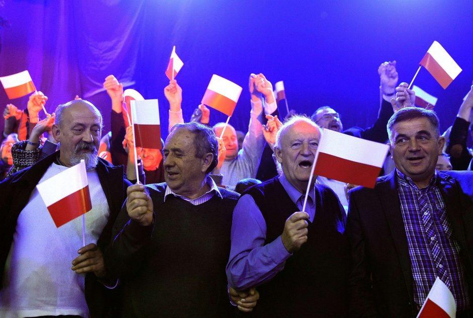 Apklausos rodo, kad Lenkijos vietos rinkimus laimi valdantieji