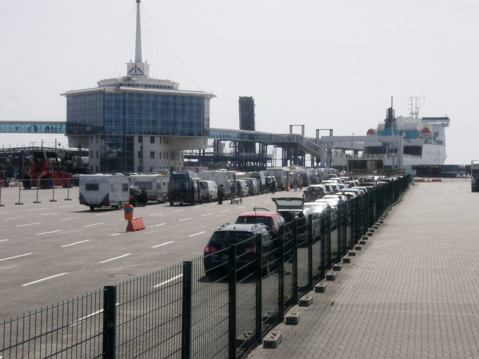 Uždaroma seniausia Klaipėdos laivybos linija